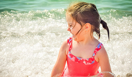 Blisters from Sunburn – When to Bring Your Child In